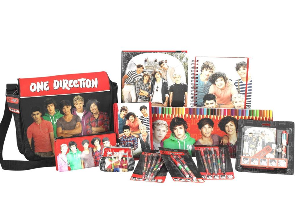 ONLY ONE: Tweenage girls will love One Direction merchandise. From $4.99. Whitcoulls.