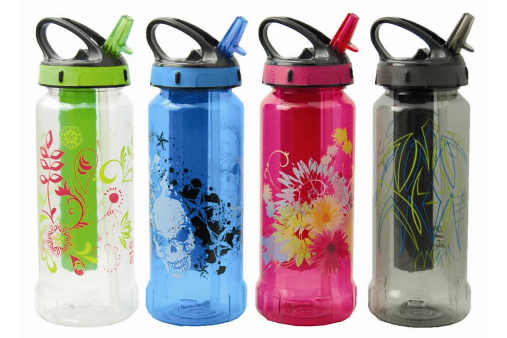 SCHOOL COOL: Tweens going into high school will love these funky drink bottles.$9.99. The Warehouse.