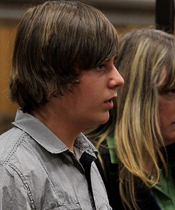 Jordan Nelson, who killed Rosemary Kurth, a good samaritan who acted as his mother.