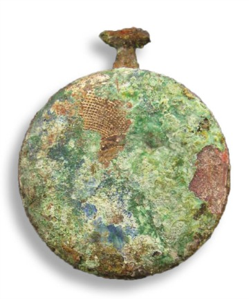 UNCOVERED TREASURE: This ladies fob watch was one of the artefacts found in a secret hidden room.