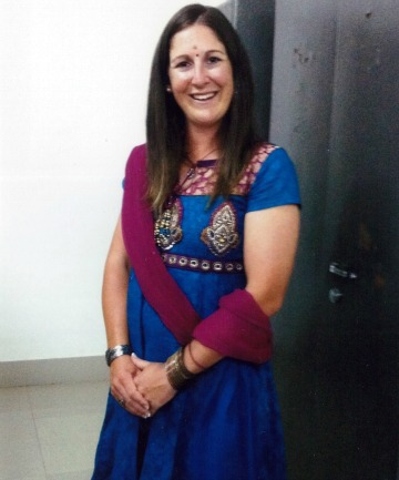 GOOD INNINGS: The colour, lifestyle and adventures in India has impressed Timaru's Maria Fahey, who retired from international cricket and has taken up coaching on the sub-continent.