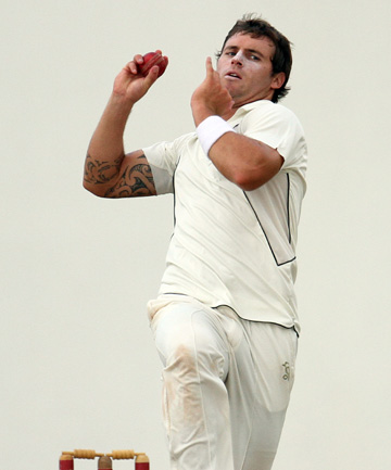 ON TRACK: Doug Bracewell will miss Central Districts' Plunket Shield clash with Wellington but is expected to be fit for the Black Caps tour of South Africa.