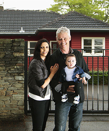 DREAM HOME: Jasmin Steiner, Michael Nooyen and their five-month-old son Antoneo Nooyen will be moving into their new home just in time for Christmas.