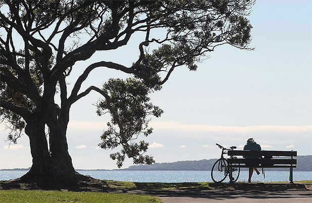 INTO THE BLUE: The temperature in Auckland is expected to hit 25C on Sunday.