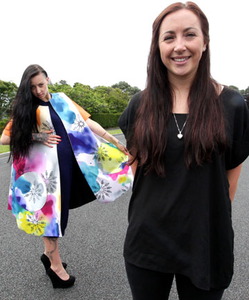 EXCITING TIME:  New Plymouth's Sam O'Reilly has been selected to show her collection in the 2013 iD Dunedin Fashion Show.  Amy-Rose Beale models a creation.