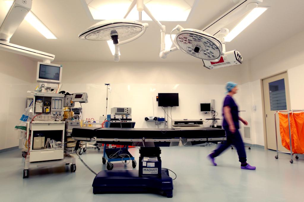 UP TO DATE:  Bidwill Hospital now has three modern operating theatres.