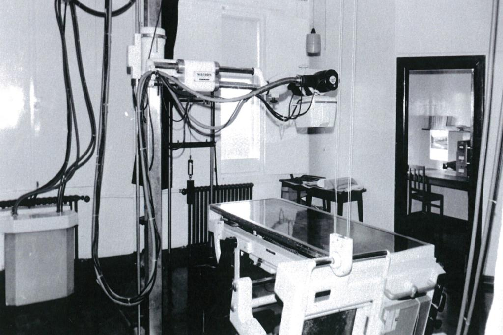 EARLY YEARS: Bidwill Hospital's 1930s' X-ray department was a fairly simple affair compared to today's modern technology.