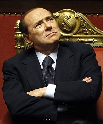 HEADLINE MAKER: Rome's European allies are doing little to conceal dismay at the thought of Berlusconi's return.