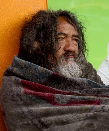 Ben Hana, better known as Blanket Man, died of a sudden heart attack, a coroner's inquest has revealed.