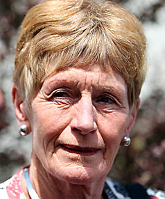 REINSTATED: Principal Prue Taylor was absent from the CGHS prize-giving.