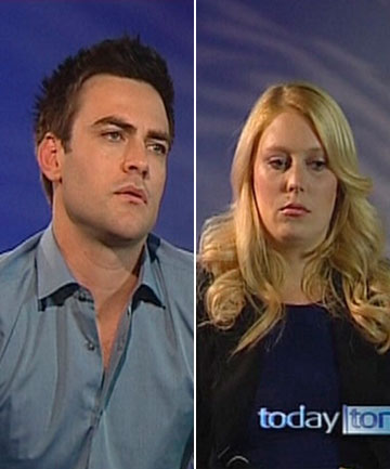'GUTTED': 2DayFM radio presenters Michael Christian, left, and Mel Greig.
