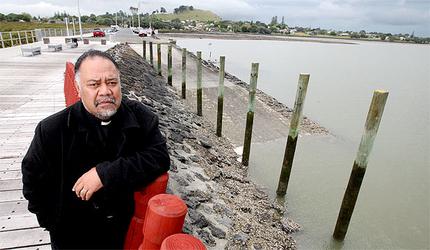 TIME FOR CHANGE: The Rev Iki Pope is urging members of his church to keep safe on the water this summer.