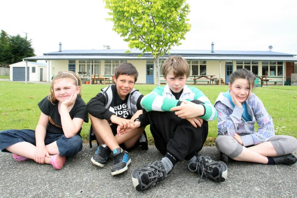 Photographer Nicole Gourley captures images at Waimahaka School, prior to it closing for good next year.