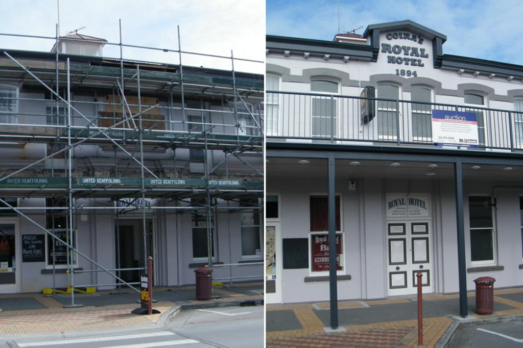 royal hotel temuka