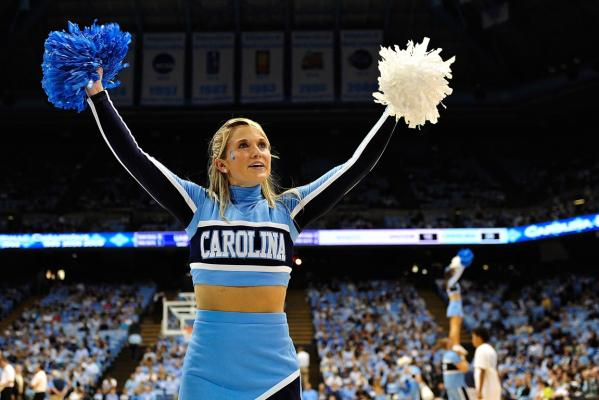 Carolina cheerleader