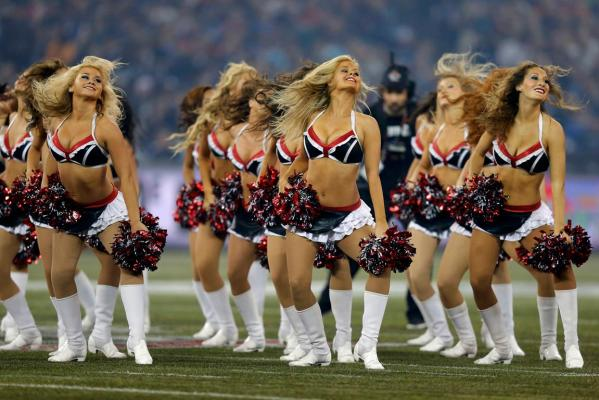 Calgary Stampeders cheerleaders