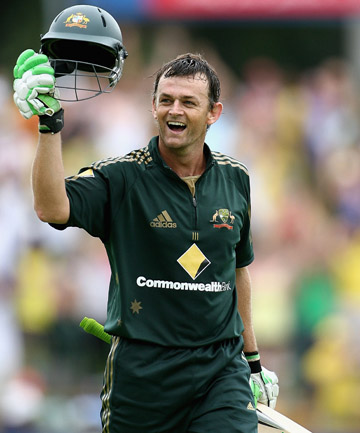 GOING, GONE: Adam Gilchrist believes the 2015 World Cup will be the last hurrah for ODIs.