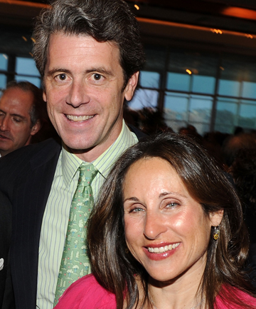 Tony Malkin and wife Shelly