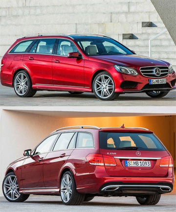 The new Mercedes-Benz E-Class wagon.
