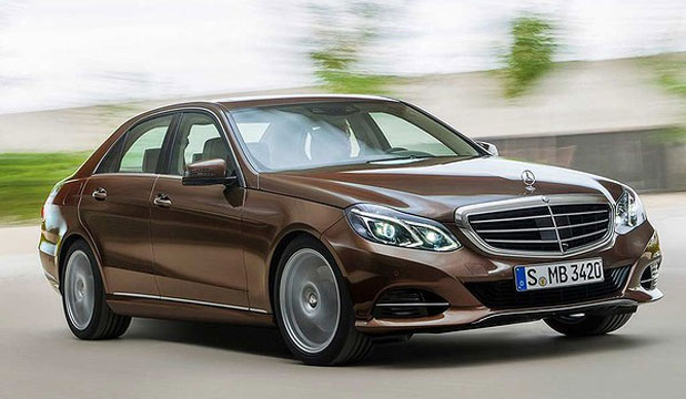 The new Mercedes-Benz E-Class sedan.