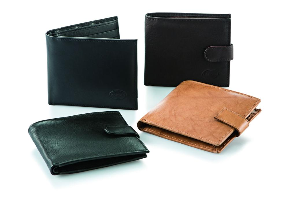 GOOD IDEA: Help grandad get organised with a new wallet. $39.99 Farmers.