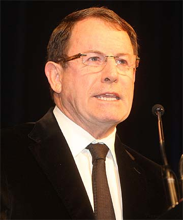 JOHN BANKS: Has not come up the river on a cabbage boat.