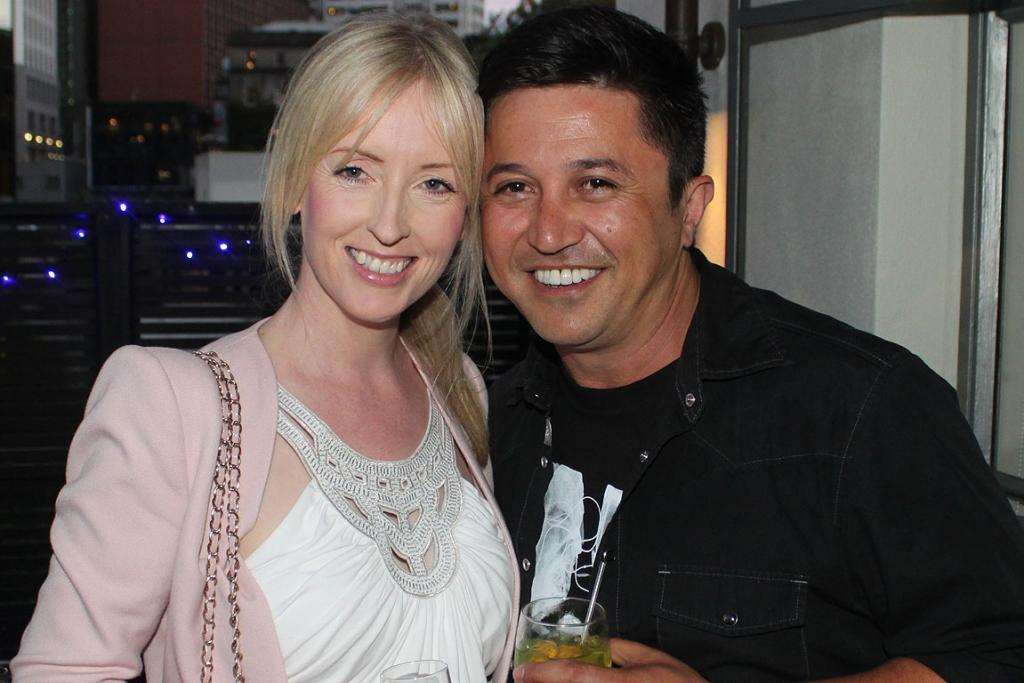 Tracey Donaldson and Mike Puru.