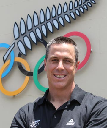 NEW MAN IN CHARGE: Rob Waddell has become New Zealand's 18th Olympic chef de mission, replacing outgoing Dave Currie.