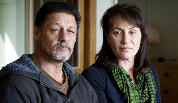 OVERWHELMING SADNESS: Izak Millanta's parents Stephen Millanta and Christine Wikaira are relieved someone has been held accountable for their son's death but still believe one other person was involved in the attack.