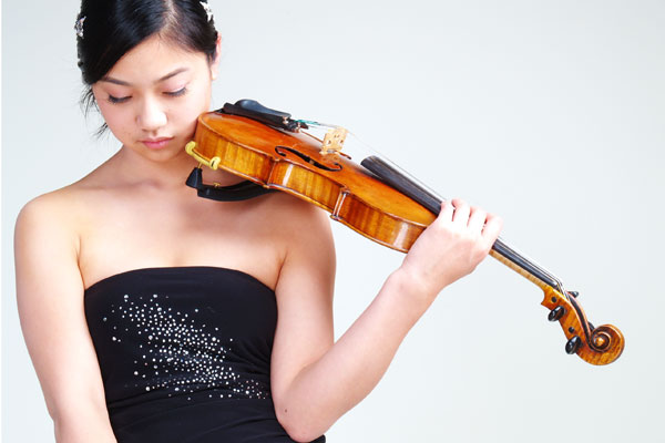 Christchurch-born violinist Nathalie Lin