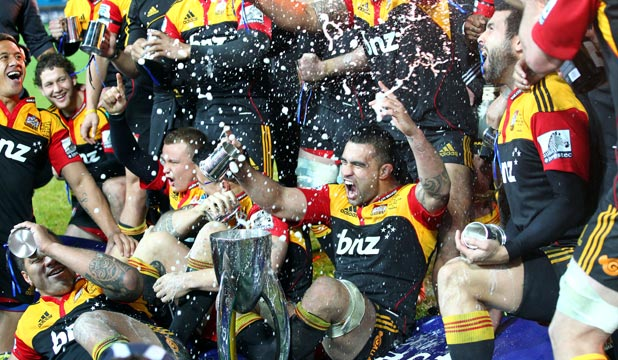 NO ACCOLADES: The Chiefs ended their Super Rugby title drought in 2012 but were largely overlooked at the New Zealand rugby awards on Friday night.