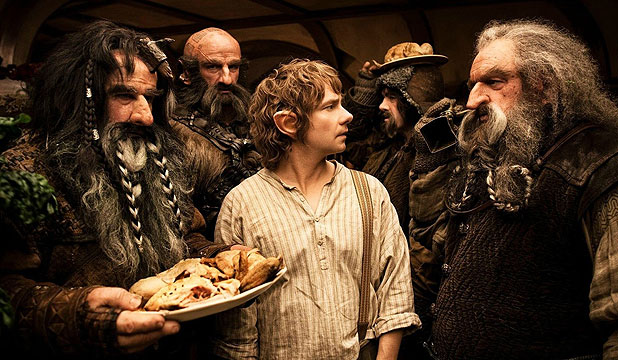 GOLDEN WEEKEND: The opening weekend of The Hobbit has set a December movie record for US box office sales.