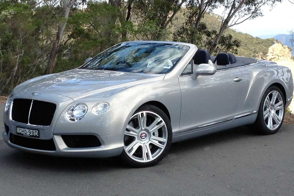 BENTLEY CONTINENTAL GTC: Smaller engine, less expensive and yet the best example of the car yet.