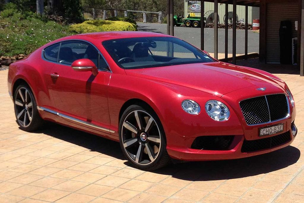 CONTINENTAL GT: Lacks the head-turning ability of the GTC, but looks very handsome nevertheless.