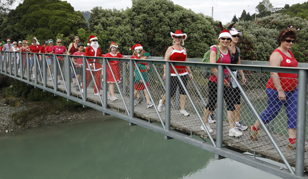 Jingle Bells Jog and Santa Walk
