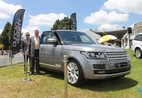 Duncan & Ebbett brought the All-New Range Rover to Tempo Lawn where it was publicly revealed in New Zealand for the first time during the Waikato Times Gold Cup race meet.