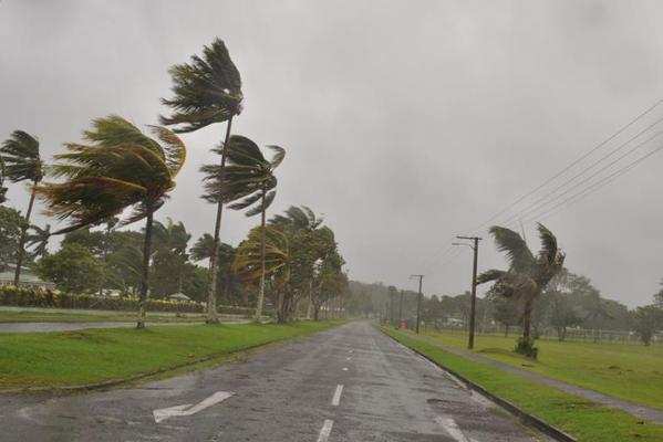 Cyclone Evan in Fiji