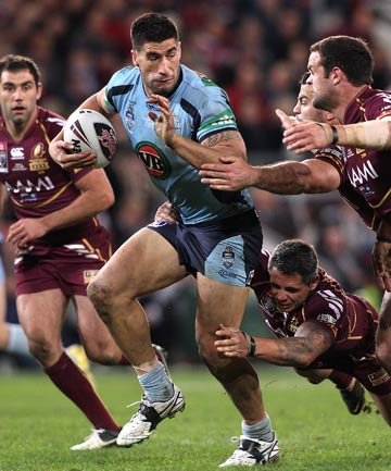 CATALYST FOR CHANGE: Kiwi-born James Tamou caused a stir when opted to play for New South Wales over New Zealand.