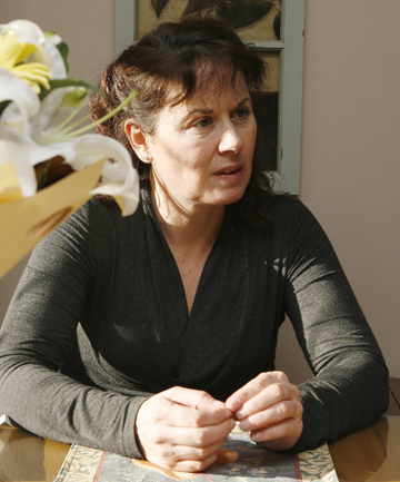 FAMILY: Denise Clarke in 2007 shortly after her partner, James Takamore died.