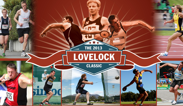 INTERNATIONAL FIELD: The Lovelock Classic is set to be the best yet with a number of nationally ranked athletes from both Australia and New Zealand set to compete: clockwise, from top right, Hamish Carson, Scott McLaren, Marshall Hall, Damien Birkenhead, Ryan Tinkler, Tom Walsh, Brett Clifford and Luke Hurring.