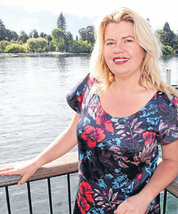 Fiona McArthur who will be running for a place on the Queenstown Lakes District Council next year.
