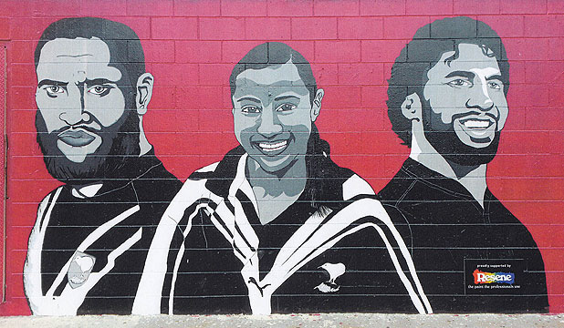 OUTSTANDING EFFORT: This striking mural has earned Sir Edmund Hillary Collegiate a national prize.