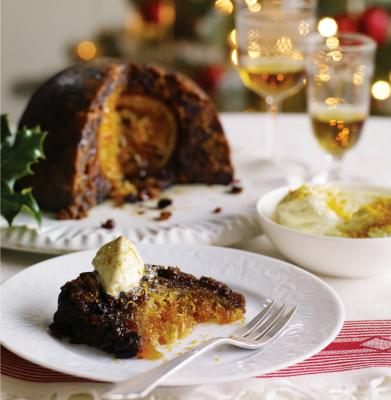 Heston Christmas pudding