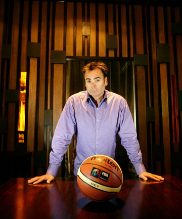 MAN WITH THE PLAN: Nick Mills wants to save the Tall Blacks from extinction by leasing their brand.