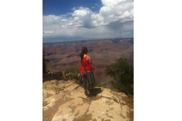 Contemplating the Grandness of the Canyon