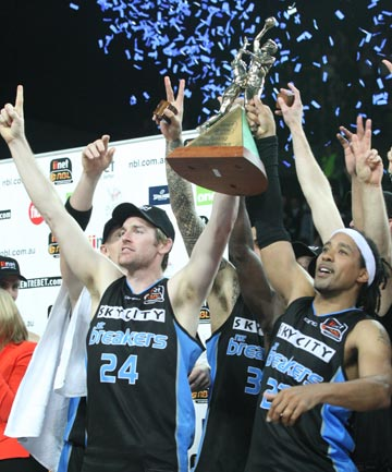 Breakers win back-to-back titles
