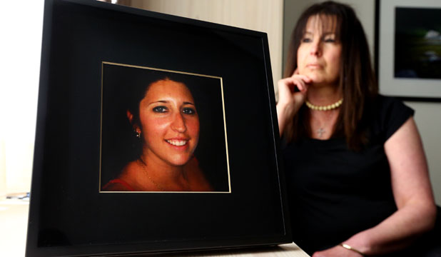 MISTAKES ALLEGED: Rozalia Biczo with a photo of her daughter Andrea Tabernacle, who died at Wellington Hospital in 2009.
