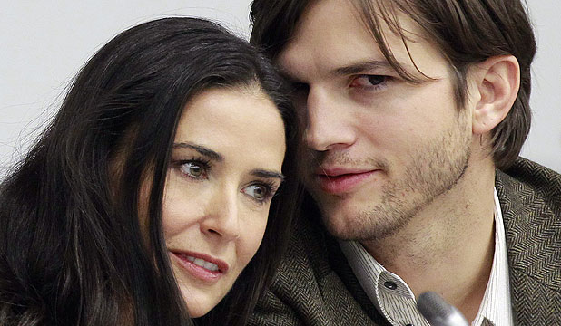 FRIENDLY BUT NOT GETTING BACK TOGETHER: Ashton Kutcher and Demi Moore won't go back to what they were, an insider says.