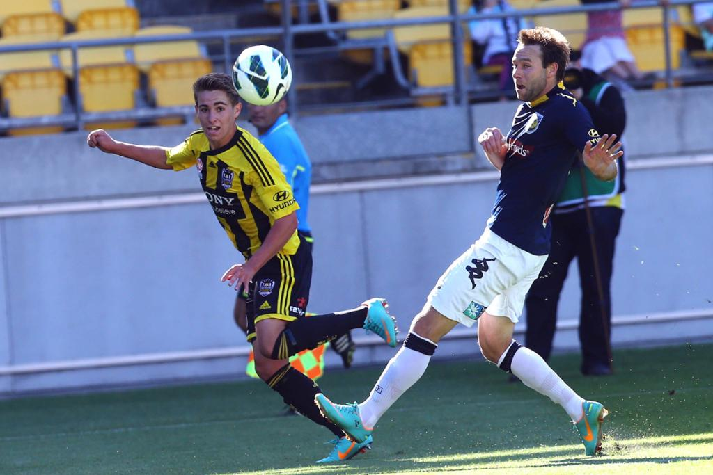 Tyler Boyd in action for the Phoenix in their 1-1 draw with the Mariners.