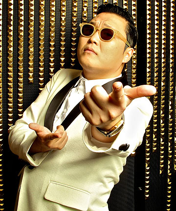 CASHING IN: South Korean pop star PSY has galloped his way into the record books with Gangnam Style reaching one billion views on YouTube.